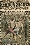 He Caught Tom a Smack under the Chin, Late 19th or Early 20th Century-Pugnis-Giclee Print
