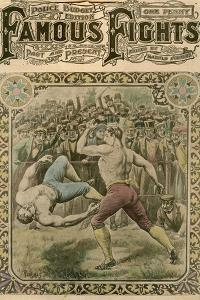The Fight Between Tom Spring and Bill Neat, 1823 by Pugnis