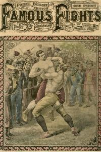 The Second Fight Between Bendigo and Ben Caunt, 1838 by Pugnis