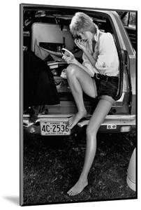 Glamour - May 1971 - Sitting in Back of Station Wagon by Puhlmann Rico
