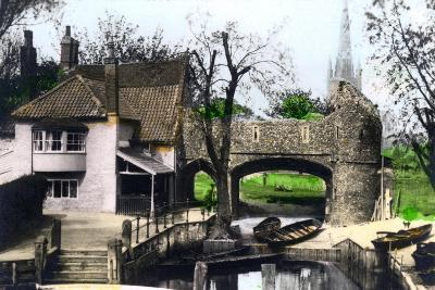 Pull's Ferry, Norwich, Norfolk, 1926--Giclee Print