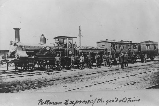 Pullman Express Locomotive--Photographic Print