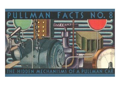Pullman Facts No. 8, Hidden Mechanisms, Graphics--Art Print