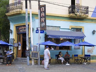 Pulperia La Argentina Bar in La Boca District of Buenos Aires, Argentina, South America-Richard Cummins-Photographic Print