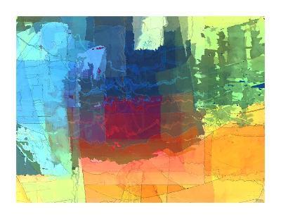 Pulsations I-Michael Tienhaara-Giclee Print