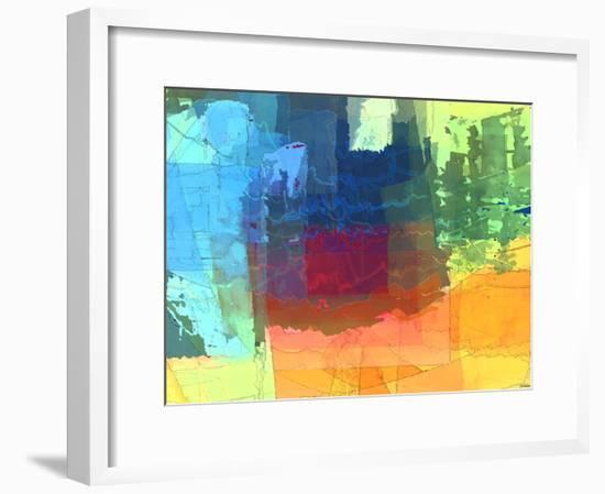 Pulsations I-Michael Tienhaara-Framed Giclee Print