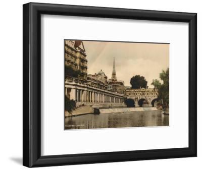 Pulteney Bridge, Bath, Somerset, C1925