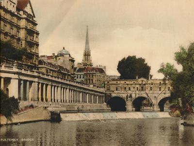 Pulteney Bridge, Bath, Somerset, C1925--Giclee Print