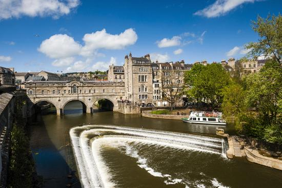 Pulteney Bridge over the River Avon, Bath, Avon and Somerset, England, United Kingdom, Europe-Matthew Williams-Ellis-Photographic Print