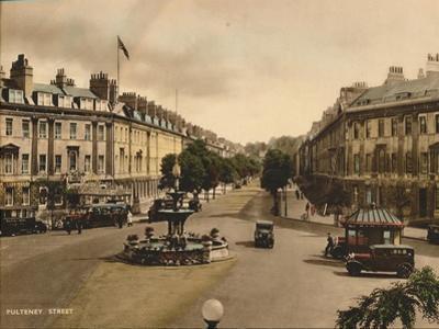 Pulteney Street, Bath, Somerset, C1925