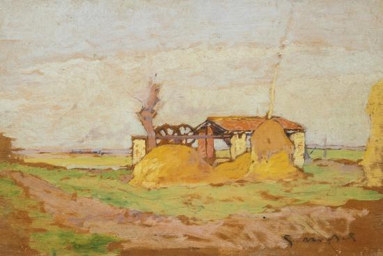 Pump Machine, 1910-1920-Guglielmo Micheli-Giclee Print