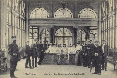 Pump Room of the Kochbrunnen Thermal Spa, Wiesbaden, Germany--Photographic Print