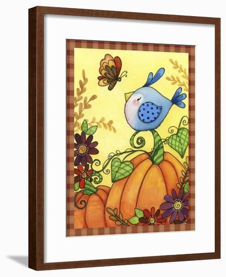 Pumpkin Bird-Jennifer Nilsson-Framed Giclee Print