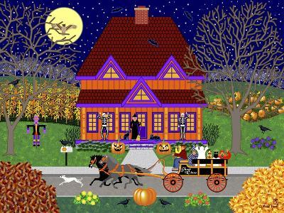 Pumpkin House-Mark Frost-Giclee Print