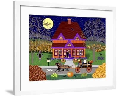 Pumpkin House-Mark Frost-Framed Giclee Print