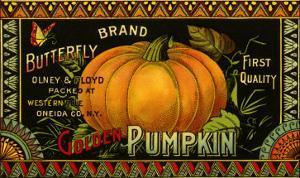 Pumpkin Label