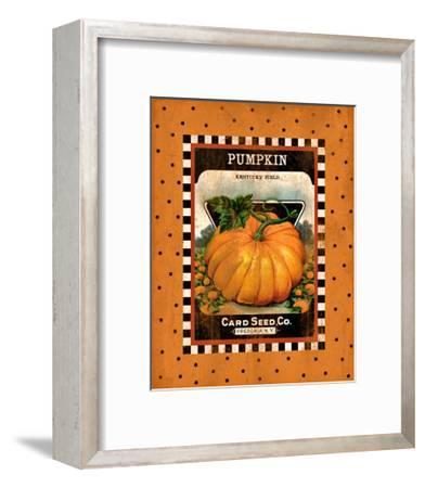 Pumpkin Seed Pack--Framed Giclee Print