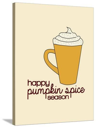 Pumpkin Spice-Jetty Printables-Stretched Canvas Print