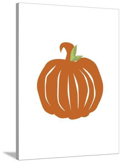Pumpkin-Jetty Printables-Stretched Canvas Print