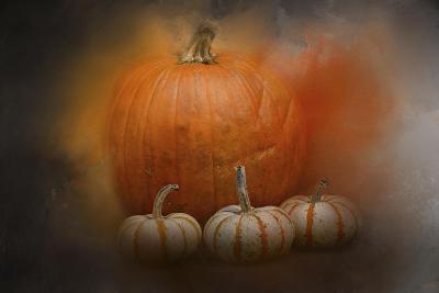 Pumpkins in October-Jai Johnson-Giclee Print