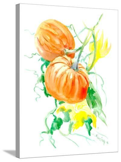 Pumpkins-Suren Nersisyan-Stretched Canvas Print