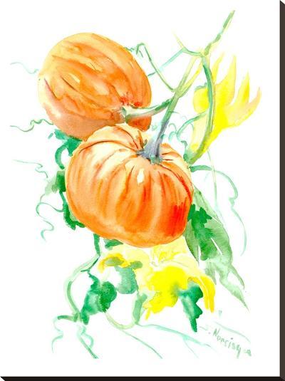Pumpkins-Suren Nersisyan-Stretched Canvas Print