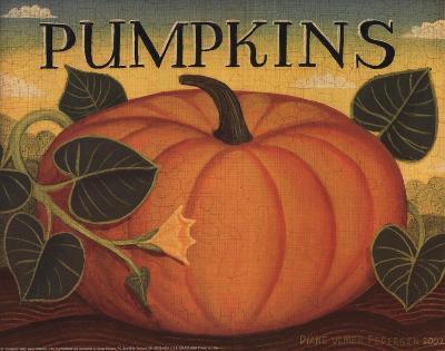 Pumpkins-Diane Ulmer Pedersen-Art Print