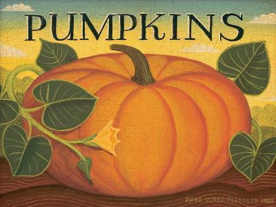 Pumpkins-Diane Pedersen-Art Print