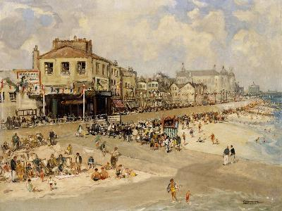 Punch and Judy Show, Hastings-Godwin Bennett-Giclee Print
