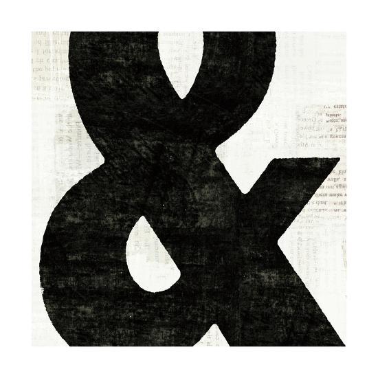 Punctuated Black Square III--Art Print