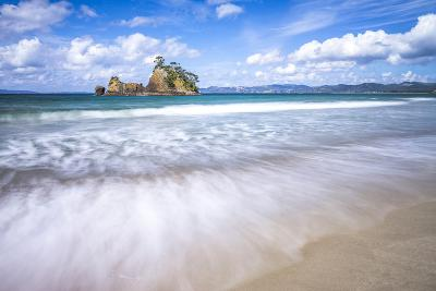 Pungapunga Island, Whangapoua Beach, Coromandel Peninsula, North Island, New Zealand, Pacific-Matthew Williams-Ellis-Photographic Print