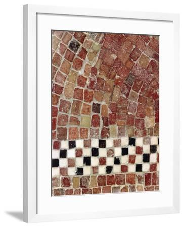 Punic Civilization, Detail of a Polychrome Mosaic from Byrsa Hill, Carthage, Tunisia--Framed Giclee Print