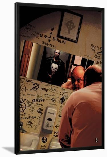 Punisher No.10 Cover: Punisher-Tim Bradstreet-Lamina Framed Poster