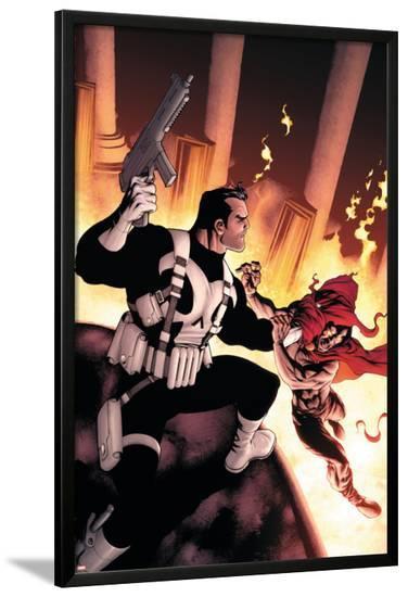 Punisher No.10 Cover: Punisher-Mike McKone-Lamina Framed Poster
