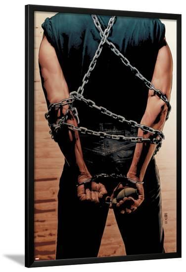 Punisher No.3 Cover: Punisher-Tim Bradstreet-Lamina Framed Poster