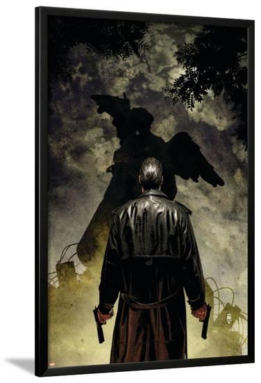 Punisher No.58 Cover: Punisher--Lamina Framed Poster