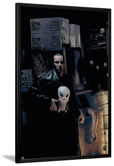 Punisher No.9 Cover: Punisher-Tim Bradstreet-Lamina Framed Poster