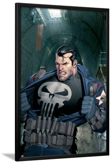 Punisher War Journal No.10 Cover: Punisher--Lamina Framed Poster