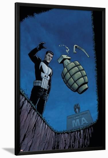 Punisher War Zone No.2 Cover: Punisher-Steve Dillon-Lamina Framed Poster