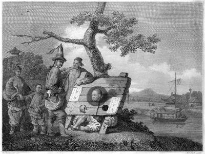 Punishment of the Tcha, China, 1796- Hall-Giclee Print
