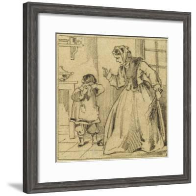 Punition--Framed Giclee Print