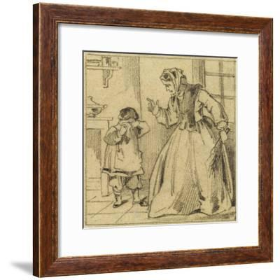 Punition--Framed Giclee Print