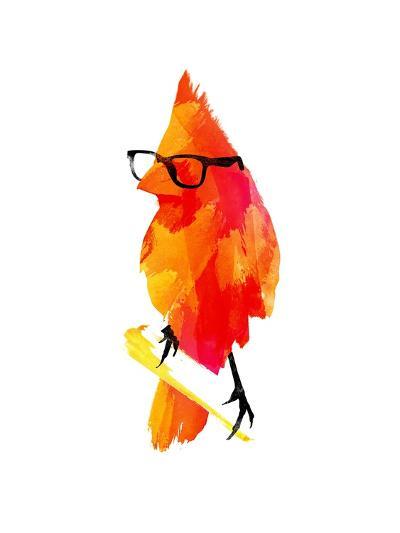 Punk Bird-Robert Farkas-Art Print