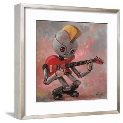 Punkbot-Aaron Jasinski-Framed Premium Giclee Print