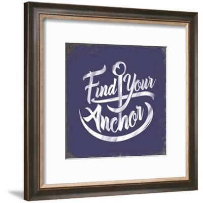 Punny Nautical IV-JJ Brando-Framed Art Print