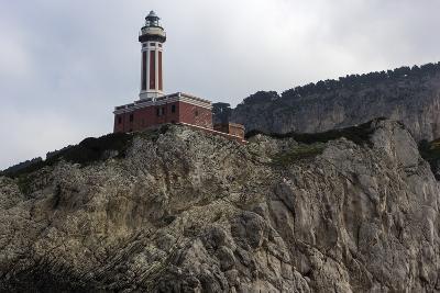 Punta Carena Lighthouse, Capri, Italy- prosiaczeq-Photographic Print