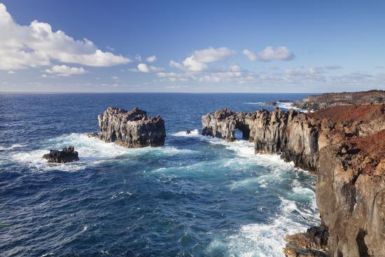 Puntas De Gutierrez, Lava Coast, El Hierro, Canary Islands, Spain-Markus Lange-Photographic Print