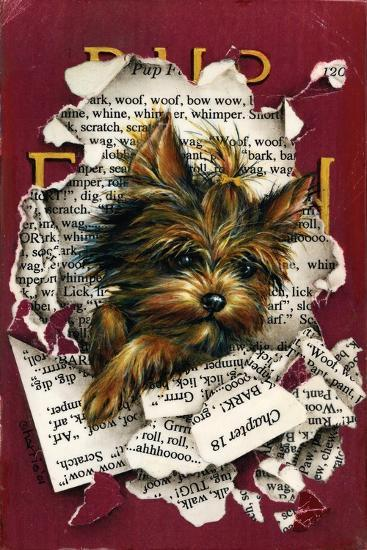 Pup Fiction-Peggy Harris-Giclee Print