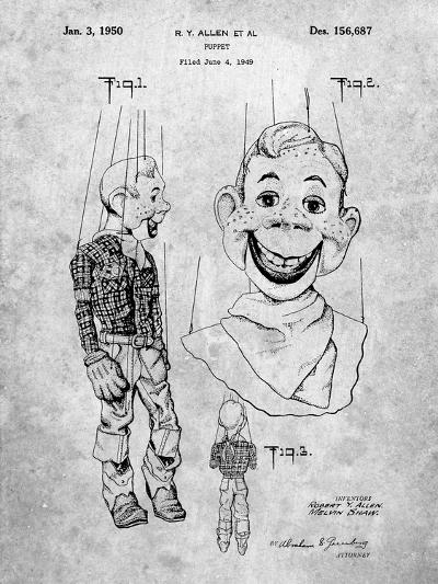 Puppet Patent-Cole Borders-Art Print