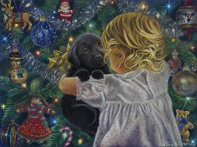 Puppy for Christmas-Tricia Reilly-Matthews-Giclee Print